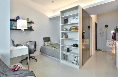 open plan apartment a 345 square foot open plan apartment spiced with a dash