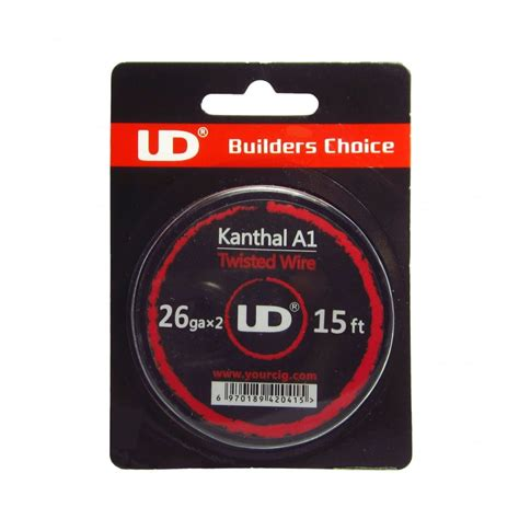 Ud Kanthal A1 24awg ud kanthal a1 twisted wire 5m the electric tobacconist 174