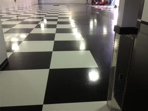 Garage Floor Paint Usa Commercial Garage Floors Coating Options Florock