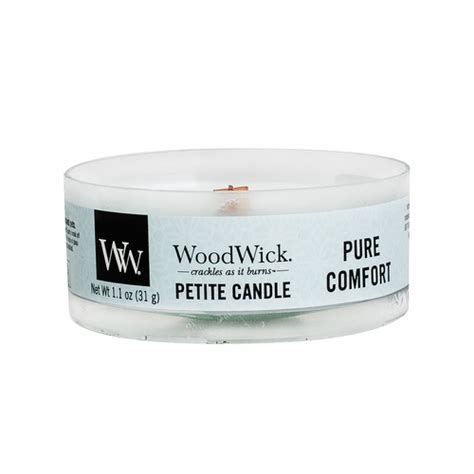pure comfort pure comfort petite woodwick candle