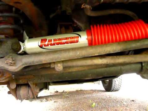 Replacing Steering Stabilizer Jeep Wrangler Jeep Wrangler Tj Steering Der Replacement Rancho Rs5000