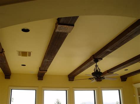 wood beams on ceiling elevate your ceilings with faux wood beams realm of