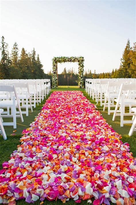 wedding aisle pool 100 awesome outdoor wedding aisles you ll page 2