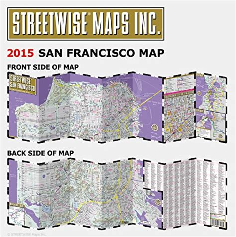 streetwise map laminated city center map of michelin streetwise maps books streetwise san francisco map laminated city center