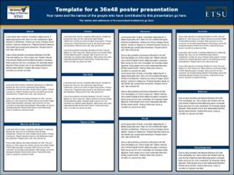 ppt template for a 36x48 poster presentation powerpoint
