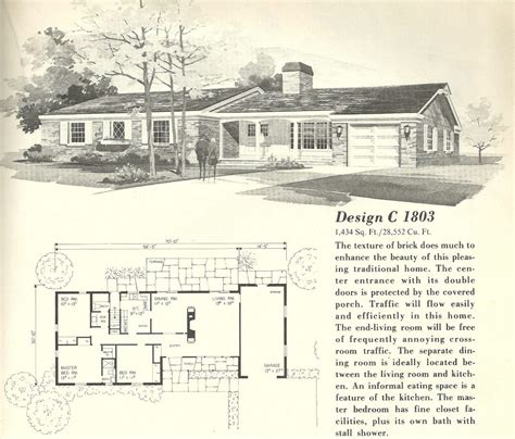 Vintage Ranch House Plans by Vintage Ranch House Plans Unique Vintage House Plans