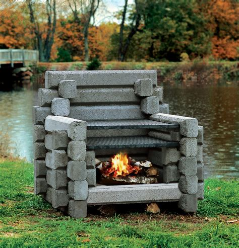 Outside Fireplace by Outdoor Fireplaces