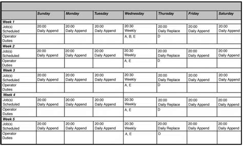 Calendar Spreadsheet Integration Schedule Spreadsheet Vertola