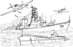 Destroyer Coloring Page Coloring Pages
