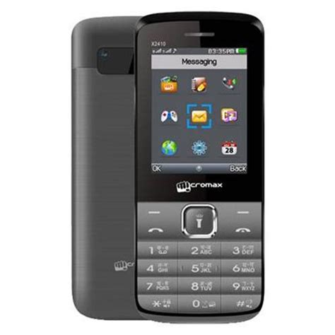 micromax mobile micromax x2410 mobile price specification features