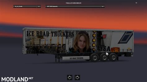 ice road truckers lisa kelly mod for ets 2