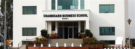 Mba And Bba Industrial Institute Chandigarh Mohali Chandigarh by Chandigarh Business School Of Administration Cbsa