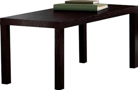 Durable Coffee Table New Durable Modern Coffee Table Easy Assemble Espresso Wood Grain Finish Ebay