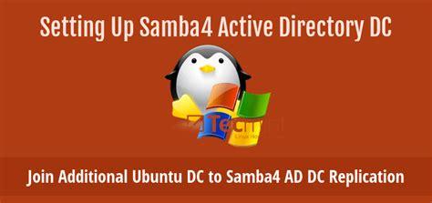 tutorial ubuntu samba4 join an additional ubuntu dc to samba4 ad dc for failover
