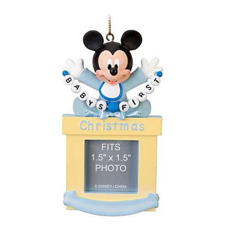 your wdw store disney christmas ornament frame mickey