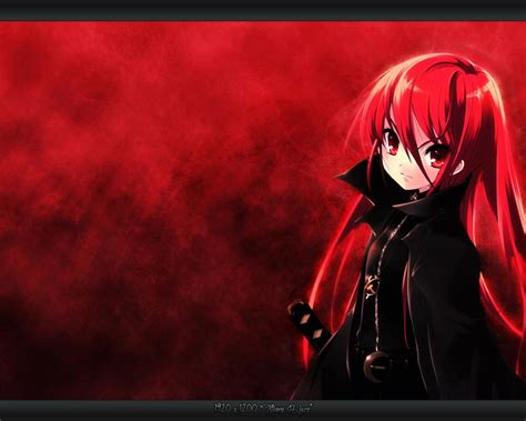 wallpaper girl red red anime wallpaper wallpapersafari