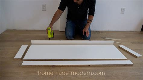 homemade modern homemade modern ep119 diy concrete table with walnut inlays