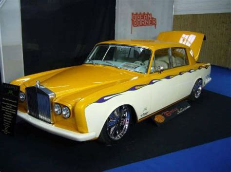 roll royce rod rolls retro rides