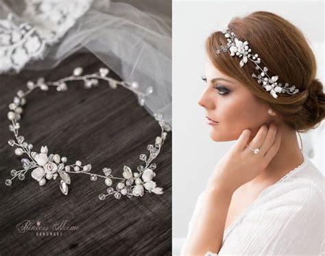 Hochzeit Brautschmuck by Die Besten 25 Braut Haarschmuck Ideen Auf