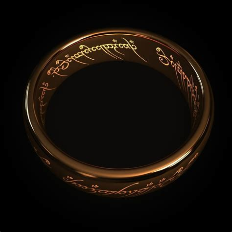 3 In 1 Rings the one ring free 3d model max cgtrader