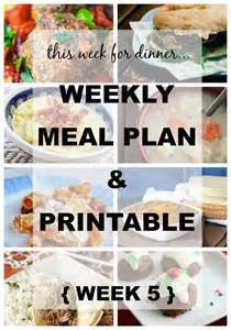 Your menu plan free shopping list printable at the end of this post