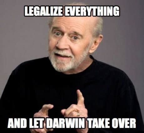 George Carlin Meme - lta officers seen inspecting car for illegal modifications