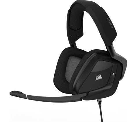 Headset Gaming Corsair corsair void pro 7 1 gaming headset black deals pc world