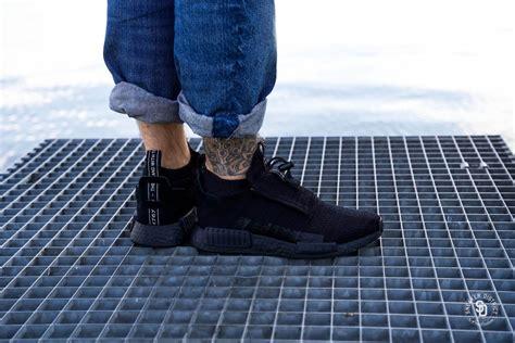 adidas nmd ts primeknit gore tex core black aq