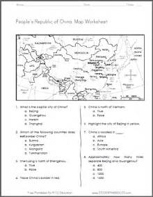 click here to print this map worksheet on the country of
