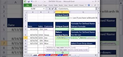 Excel Drop List From Table by How To Create A Data Validation Drop List From A