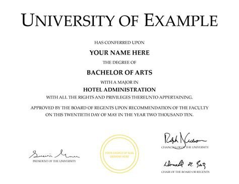 degree certificate template buy a college diploma