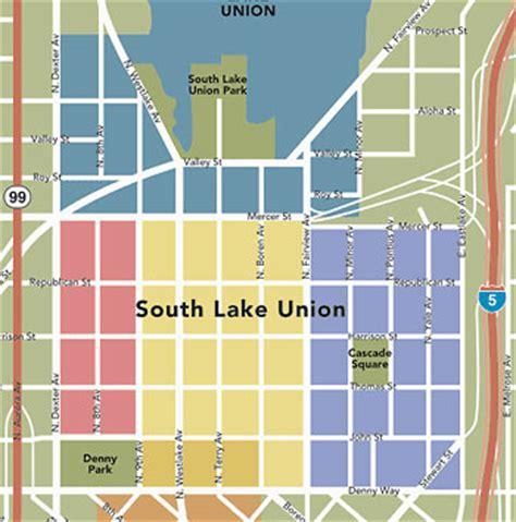 seattle map lake union south lake union seattle condos and lofts
