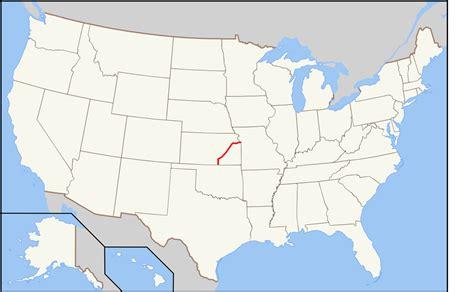 kansas state map usa file kansas turnpike usa map svg wikimedia commons