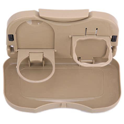 car multifunction foldable seat back meal table meja lipat mobil brown jakartanotebook