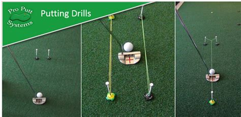 Backyard Chipping Drills by Putting Drills Galore Kit Pro Putt Systems