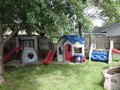 little tikes playhouse with slide and swings little tikes endless adventures playhouse double decker