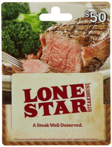 Steakhouse Gift Cards - lone star steakhouse gift card 50 shop giftcards