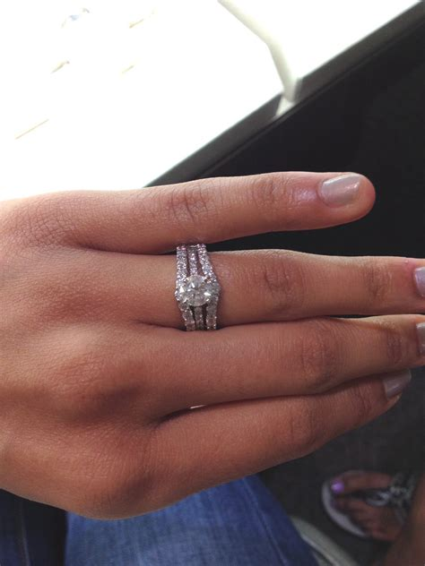 any rocking a solitaire engagement with a