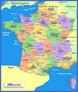 map of regions of map map travel vacations