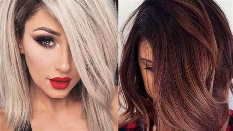 haircuts and color for winter 2017 top hair color ideas for winter haircuts colors that fit