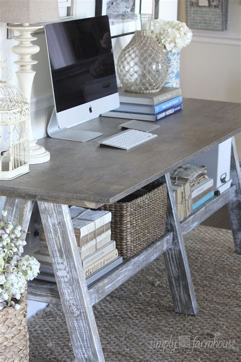 farmhouse style computer desk home decor furniture desk a farmhouse desk is simple
