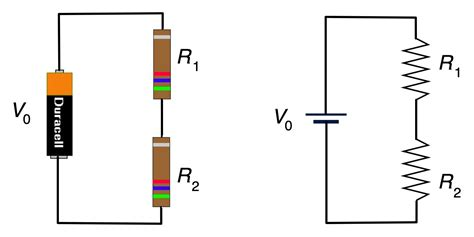 two resistors are connected in series with a battery umdberg exle resistors in series