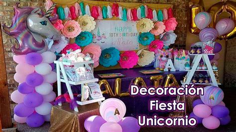 como decorar fiesta de unicornio decoraci 243 n fiesta unicornio decoracion para fiestas