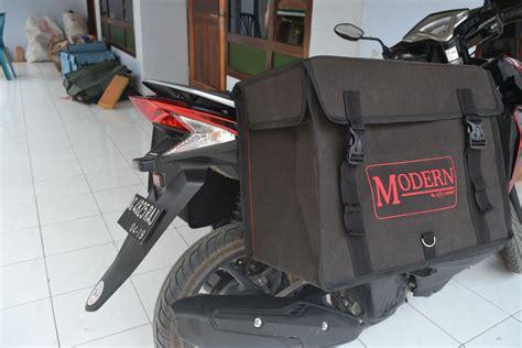 Tas Motor Klasik tas motor kurir dan delivery berbahan kanvas tni kuat dan