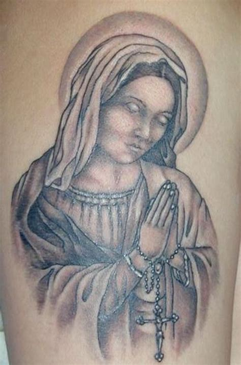 praying mary tattoo designs designs http tattooeve religion as an