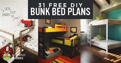 diy bunk bed ideas 31 diy bunk bed plans ideas that will save a lot of