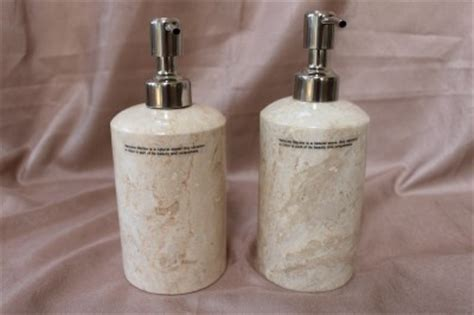 peach bathroom accessories genuine marble bathroom accessory set cream beige peach