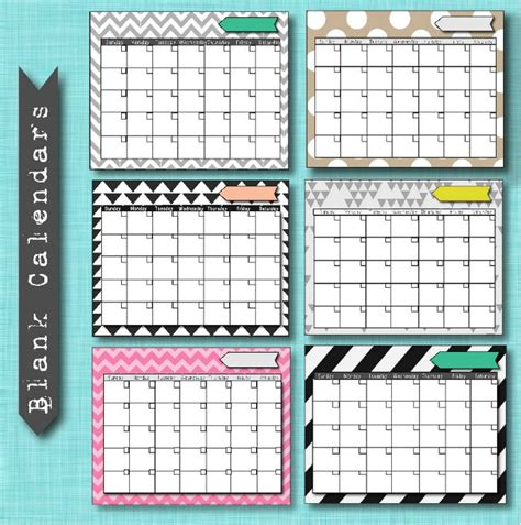 free printable calendar templates for free printable blank calendar templates printables