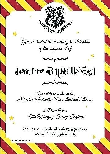 Harry Potter Baby Shower Invitation Template Meichu2017 Me Harry Potter Invitation Template Free