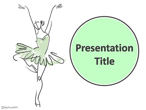powerpoint templates free download dance free ballet dance powerpoint template download free